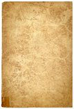 Grunge paper background. Cover of an old book provisionary held together with a piece of tape Stock Photos