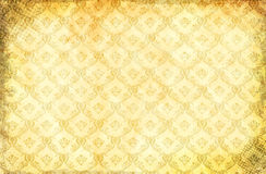 Grunge paper background with damask pattern. Royalty Free Stock Photo
