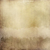Grunge paper background with halftone patterns. Stock Photos
