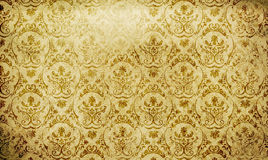Grunge paper background with vintage patterns. Stock Photo