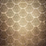 Grunge paper background with vintage patterns. Stock Image