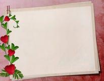 Grunge paper design for information Royalty Free Stock Images