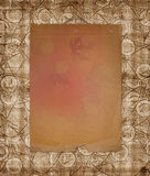 Grunge paper design in scrapbooking style Royalty Free Stock Images