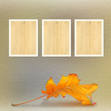 Grunge paper design in scrapbooking style with photoframe Royalty Free Stock Photography