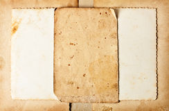 Grunge paper frame Stock Image