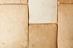 Grunge paper frame Royalty Free Stock Photography