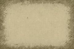 Grunge paper frame. Grunge background old paper frame Stock Images