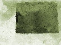 Grunge paper - green Royalty Free Stock Photos