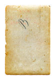 Grunge Paper - High resolution. Old textured paper with a grunge feel Stock Image
