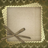 Grunge paper for the invitation Royalty Free Stock Images