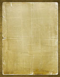 Grunge paper for the invitation with newspaper Royalty Free Stock Images