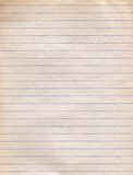 Grunge paper. Grunge lined paper texture for background Royalty Free Stock Photos