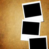 Grunge paper and photo Royalty Free Stock Images