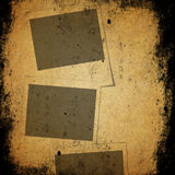 Grunge paper and photo texture background Royalty Free Stock Photography