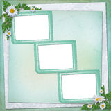 Grunge paper in scrapbooking style Stock Photo