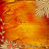 Grunge paper in scrapbooking style Royalty Free Stock Images