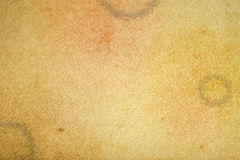 Grunge paper with stain of coffee Royalty Free Stock Photography