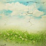 Grunge paper textur. abstrakt naturbakgrund Fotografering för Bildbyråer