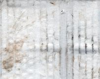 Grunge paper texture. Grunge background of dirty and shabby cardboard paper Stock Image