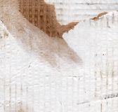 Grunge paper texture. Grunge background of dirty and shabby cardboard paper Stock Photos