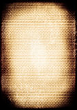 Brown and cream textured background. Brown and cream grunge textured paper creating abstract background with darker brown edges Stock Illustration