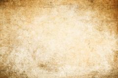 Grunge paper texture for background. Old dirty and yellowed paper texture for background stock illustration