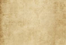 Grunge paper texture for background. Old yellowed and dirty paper texture for design. Grunge paper royalty free illustration