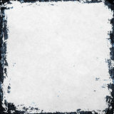 Grunge paper texture, border and background Royalty Free Stock Images