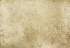 Grunge paper texture for design. Old yellowed and grunge paper background. Natural condition old paper texture stock illustration