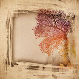 Grunge paper texture, vintage background Stock Images