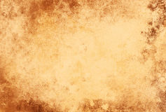 Grunge Paper Texture Light Brown Frame Royalty Free Stock Photos