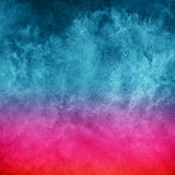 Abstraction in blues and reds Royalty Free Stock Photo