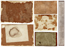 Grunge papers collection Royalty Free Stock Images