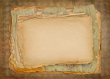 Grunge papers design Royalty Free Stock Photo