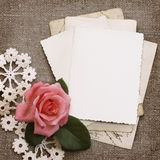 Grunge papers design Royalty Free Stock Photos