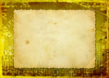 Grunge papers design with blank for text Royalty Free Stock Photography