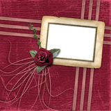 Grunge papers design in scrapbooking style Stock Image