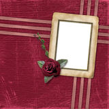 Grunge papers design in scrapbooking style Royalty Free Stock Photos