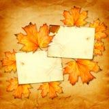 Grunge papieru projekt w scrapbooking stylu z photoframe Fotografia Royalty Free