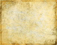 Grunge Parchment Paper Stock Image