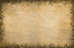 Grunge Parchment Texture. Large scale textured background with a grunge design Stock Photos