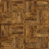 Grunge parquet flooring design seamless texture for 3d interior Stock Images