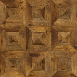 Grunge parquet flooring design seamless texture for 3d interior Royalty Free Stock Photos