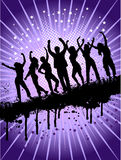 Grunge party Royalty Free Stock Photo