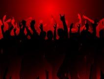 Grunge Party Lizenzfreies Stockfoto