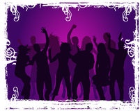 Grunge party Royalty Free Stock Image