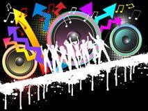 Grunge party stock illustration