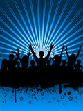 Grunge party Royalty Free Stock Images