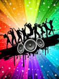 Grunge party background Stock Photo