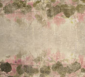 Grunge pastel pink bougainvillea foliage. Frame background Royalty Free Stock Images